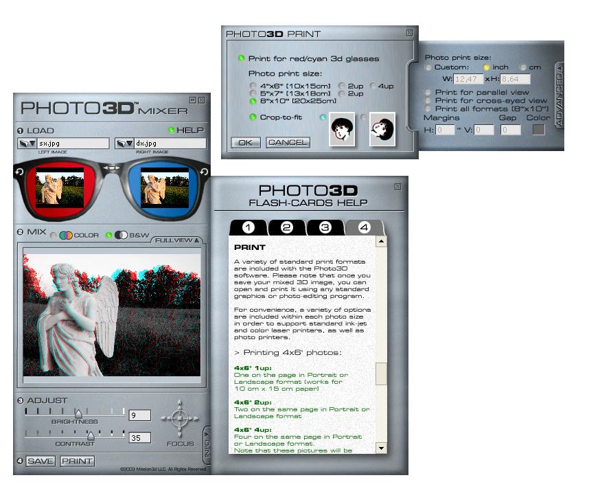La terza dimensione della fotografia for Miglior programma grafica 3d