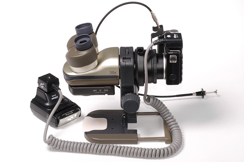 Microscopio nikon ez micro oltre la soglia del visibile