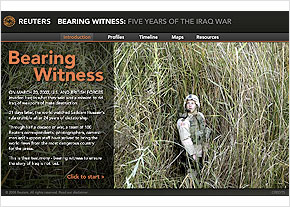 Bearing Witness : Five Years of the Iraq War
